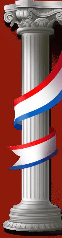 колонная для фона студии дизайна art-web