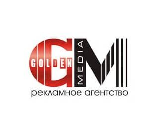 логотип рекламное агентство Голден Медиа