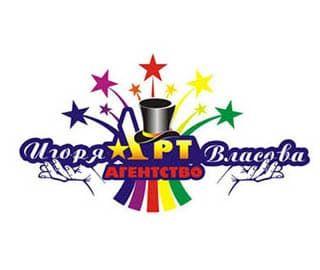 логотип арт агентство Игоря Власова
